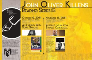 JOK Reading Series Fall 2014