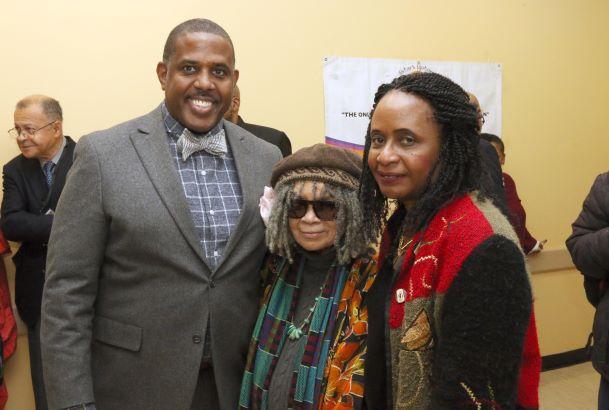 NYS Sen. Kevin Parker, Sonia Sanchez, Dr.Brenda M. Greene